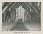 1962 Photographs of Ohio Congregations. St. Thomas Lutheran Church. Rocky River 16, Ohio.