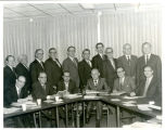 Indiana District Executive Staff and Board of Directors 1972. Standing L to R:  Mr. Ron Murphy,...