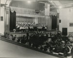 Concordia College Choir, Fort Wayne, Ind. 1940. In concert.
