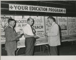 Indiana District Convention, Fort Wayne, Ind. June 1966. Education Display with Dr. Arthur Amt on...
