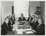 1964 Stewardship Board, May 1964. Left to right:  Mr. Robert Hitzeman, Fort Wayne; Mr. Clarence J....