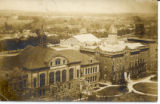 Aerial view of Concordia College, Fort Wayne, IN.